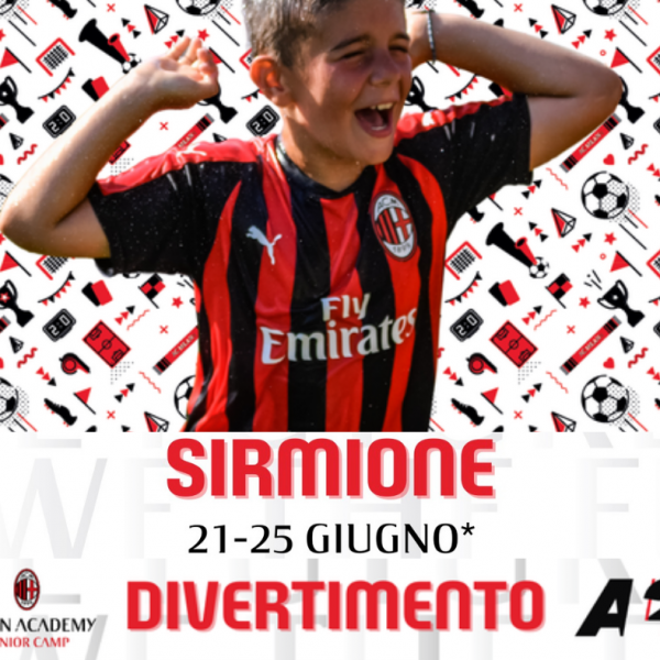 A Giugno: Lugana Marina & Milan Academy Junior Camp